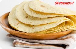 Новинка! Мексиканская лепешка «Тортилья»