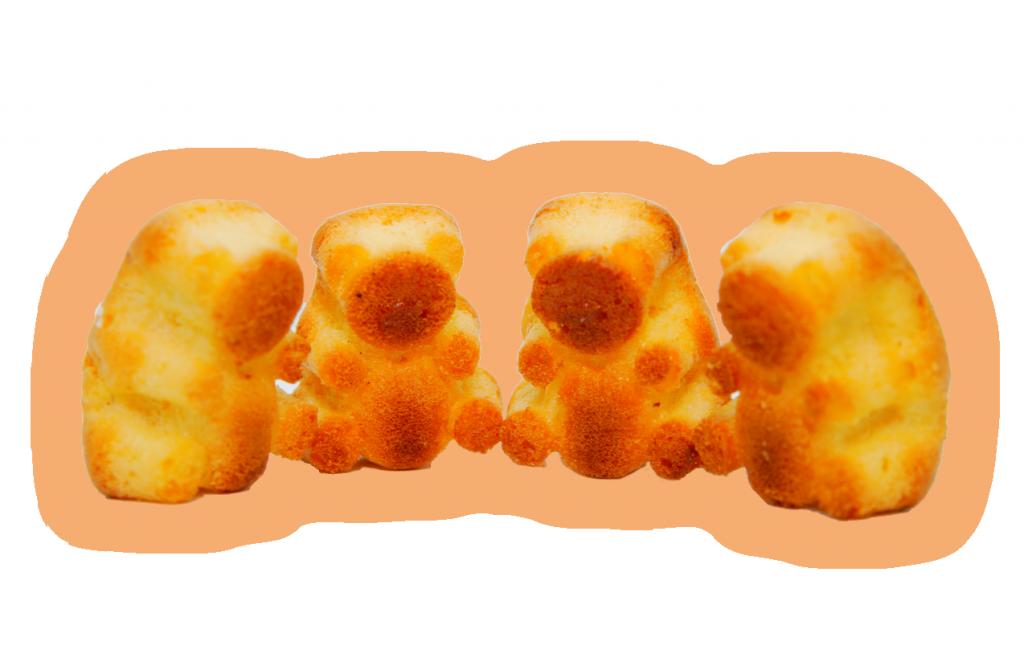 Мишутки с пломбиром и со сгущенкой